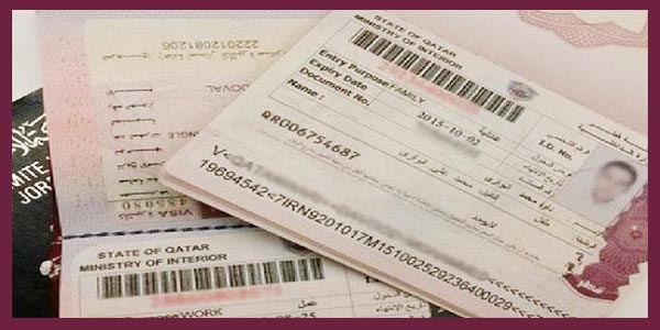 Work Visa Residency Permit in Qatar